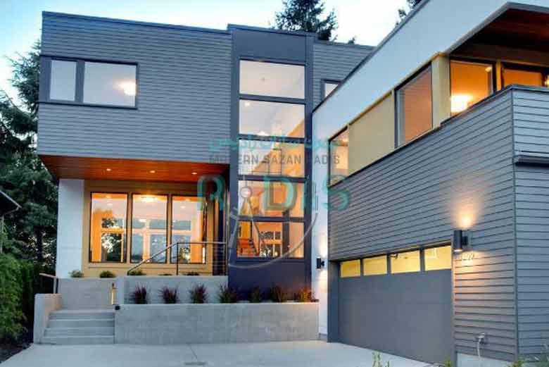 خانه های با ارزش با فایبر سمنت برد