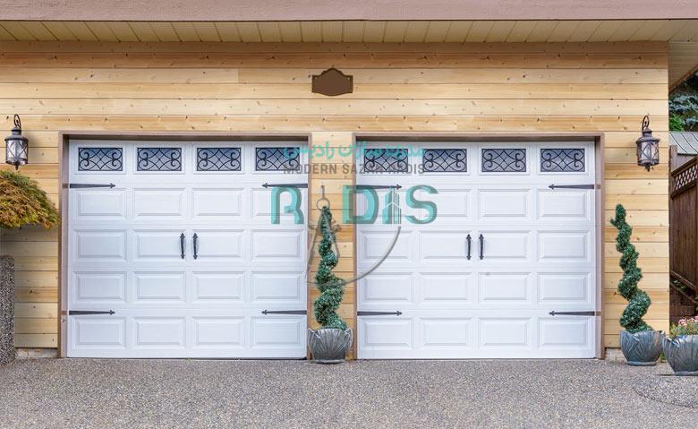 نمای طرح چوب منحصر به فرد فایبر سمنت برد رادیس کمپانی