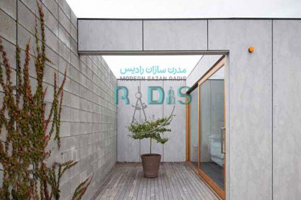 فایبر سمنت برد راه حلی ارزان برای معماری داخلی