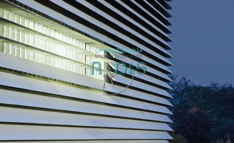 کاربرد شگفت انگیز فایبرسمنت برد در نمای ساختمان تجاری