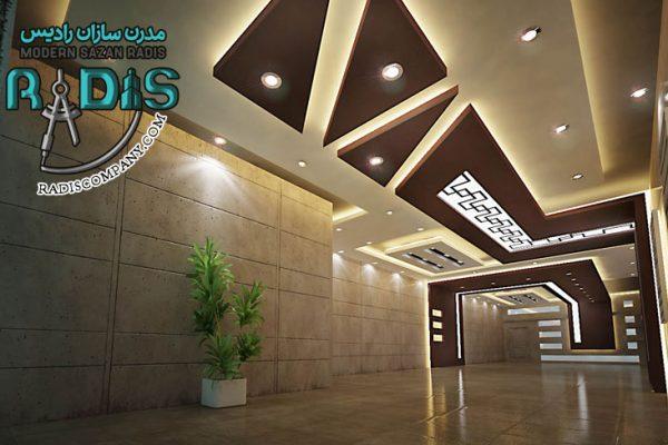 بهترین روش نورپردازی سقف با کناف