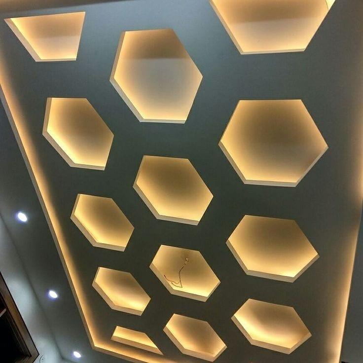 10طرح کناف سقف پذیرایی