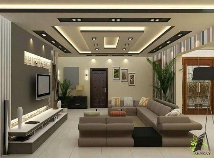 طرح های جدید کناف سقف پذیرایی