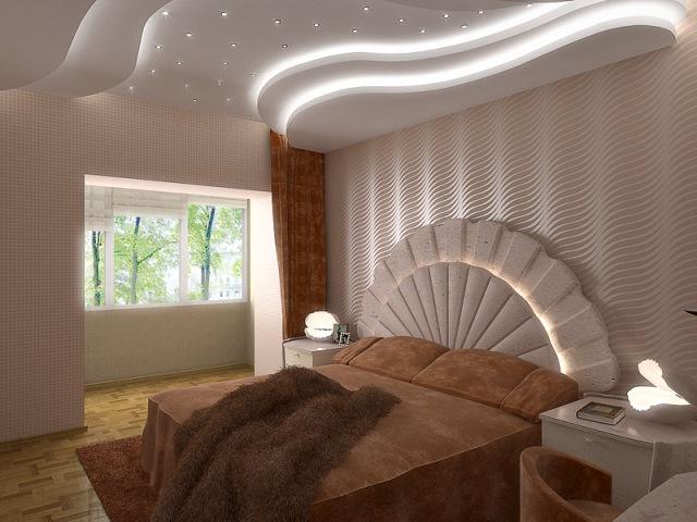 مدل کناف دیوار و سقف اتاق خواب