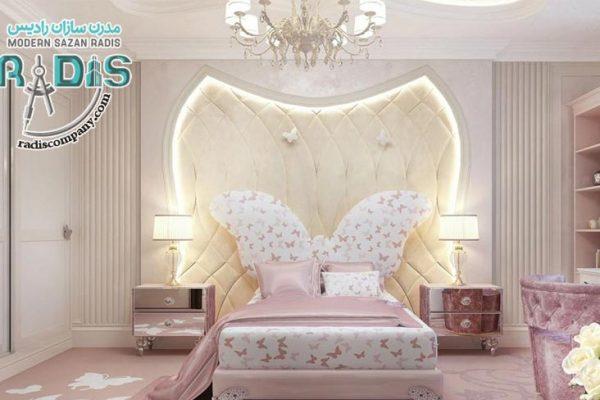 ایده های شیک برای کناف کاری اتاق خواب