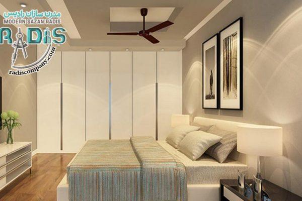 طرح های لاکچری از کناف اتاق خواب