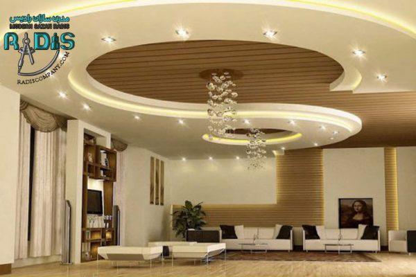 6 ایده طراحی کناف سقف 2020