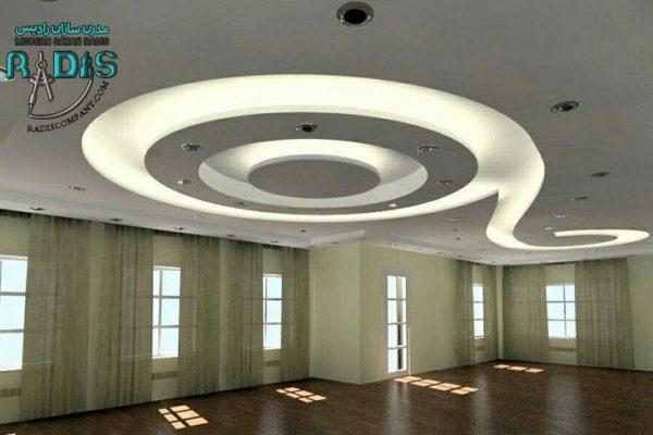 ایده های نوین طراحی سقف و دیوار با کناف