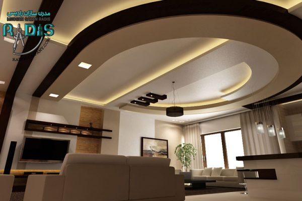لاکچری ترین ایده های کناف سقف