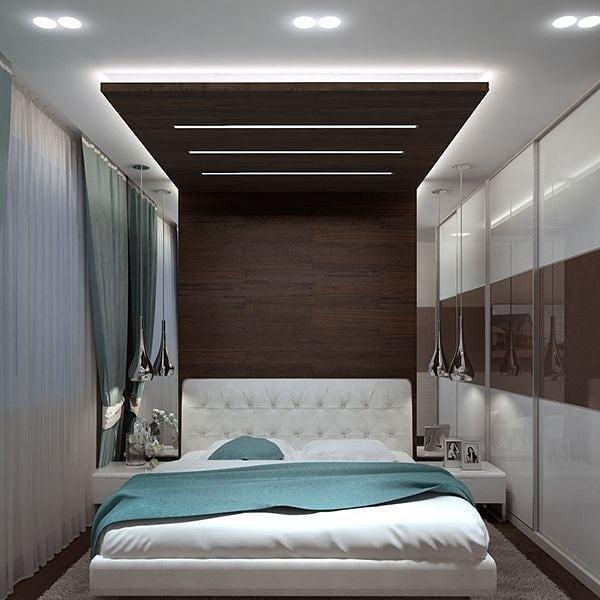 مدل کناف دیوار و سقف اتاق خواب 99