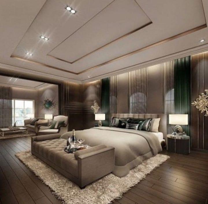 زیباترین مدلهای کناف اتاق خواب