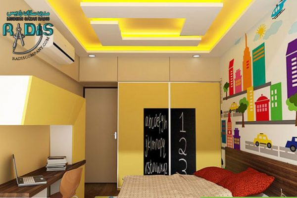 8 طرح جذاب کناف سقف اتاق خواب