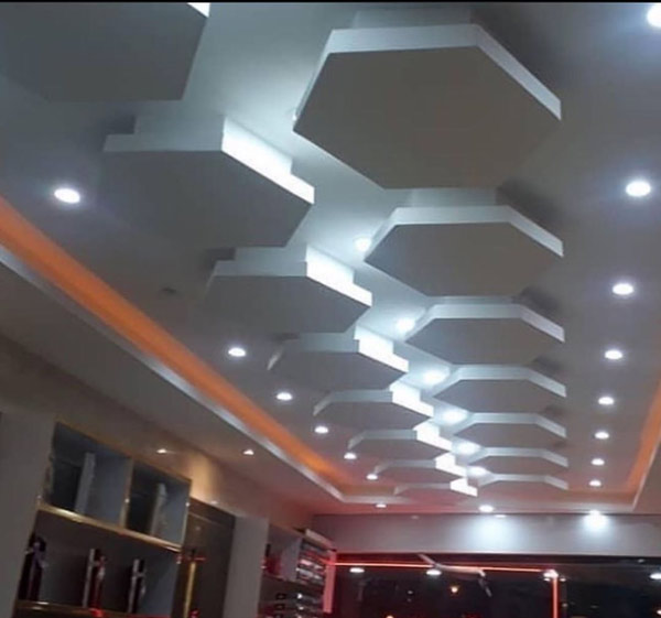 جدیدترین مدل های سقف کناف