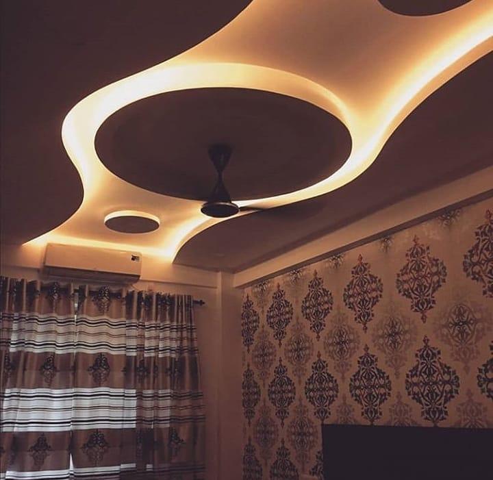 مجموعه طرح های لوکس از کناف دیوار و سقف