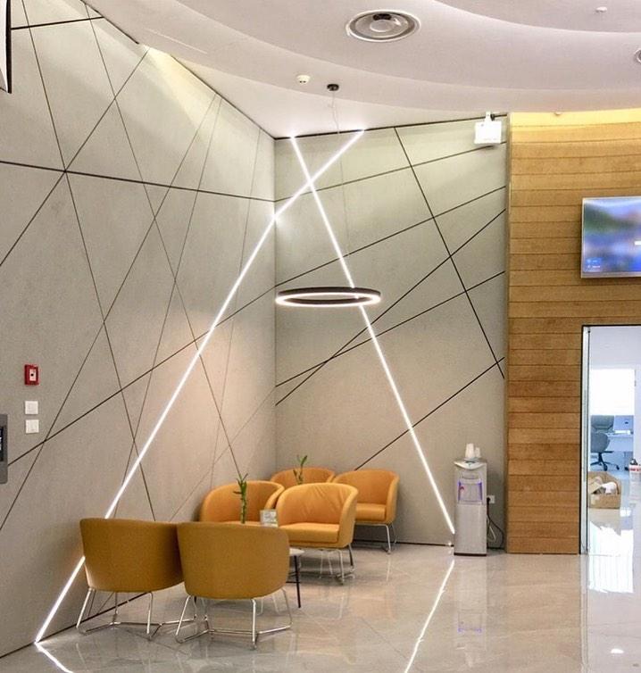 بازسازی و طراحی دکور داخلی با فایبرسمنت