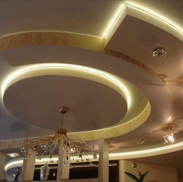 10 مدل سقف کاذب کناف با طراحی کاربردی