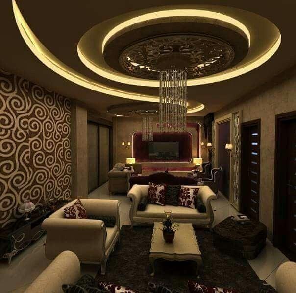 مدلهای مختلف نورپردازی سقف کناف