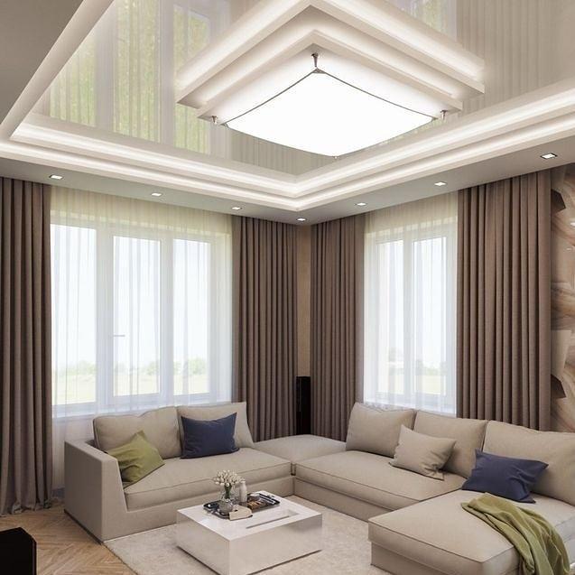 10 ایده نورپردازی سقف کناف