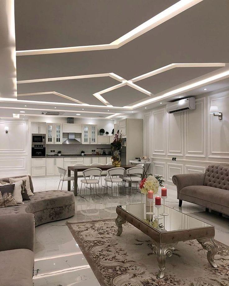 نورپردازی های حرفه ای سقف و دیوار کناف
