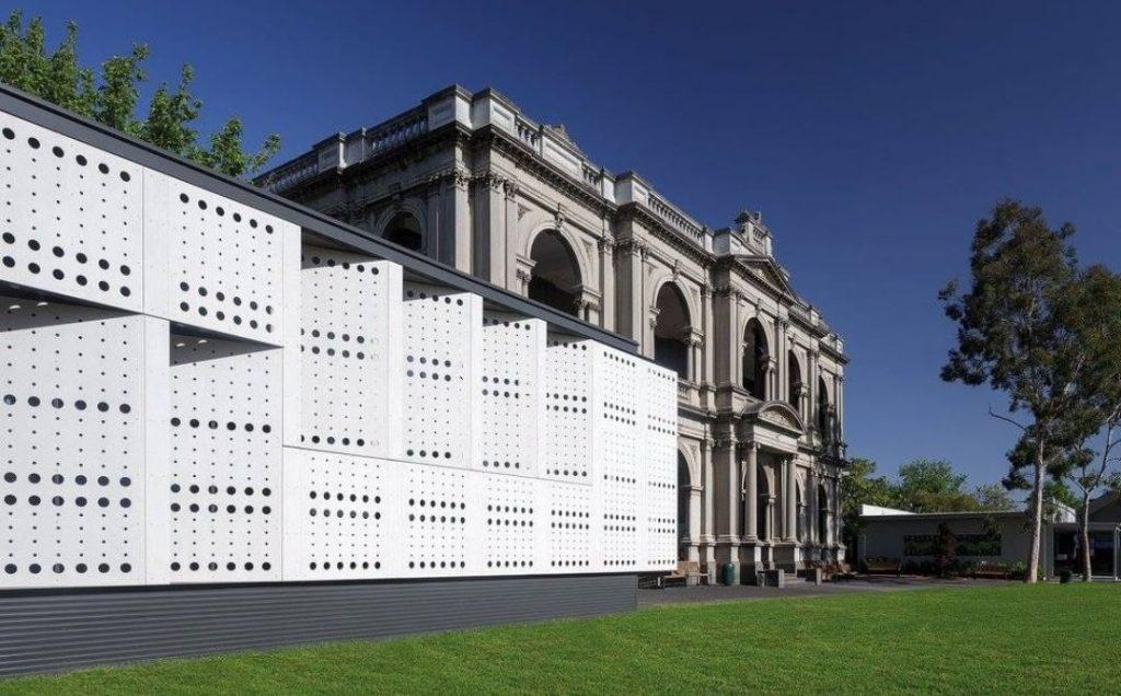 خلاقیت در نمای ساختمان با فایبرسمنت رادیس