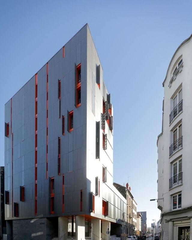 10 طرح نمای ساختمان با فایبرسمنت