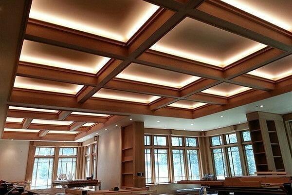 مدلهای متنوع از اجرای سقف کاذب کناف