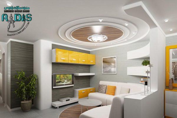 ایده های لاکچری از سقف کاذب کناف
