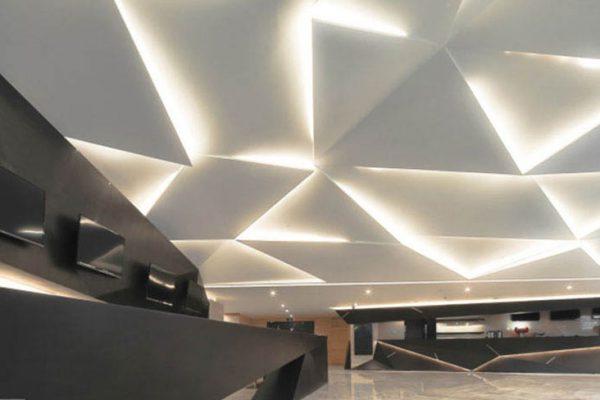 اجرای کناف فضاهای مدرن
