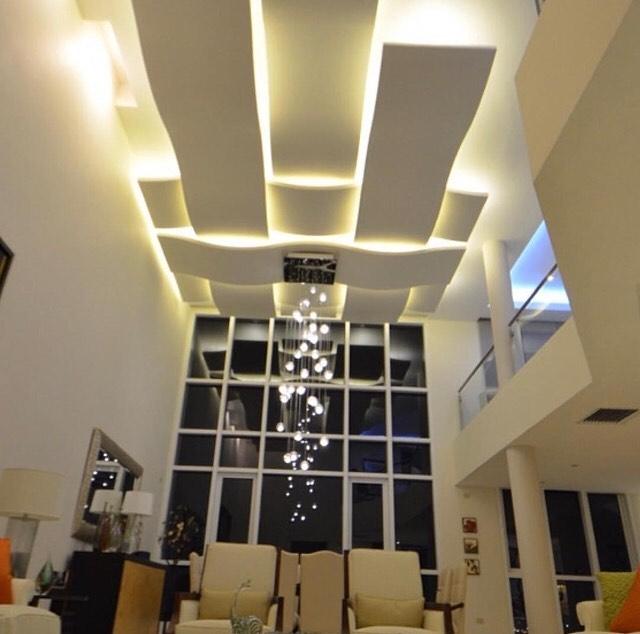 سقف کناف در طراحی دکوراتیو و زیباسازی منازل