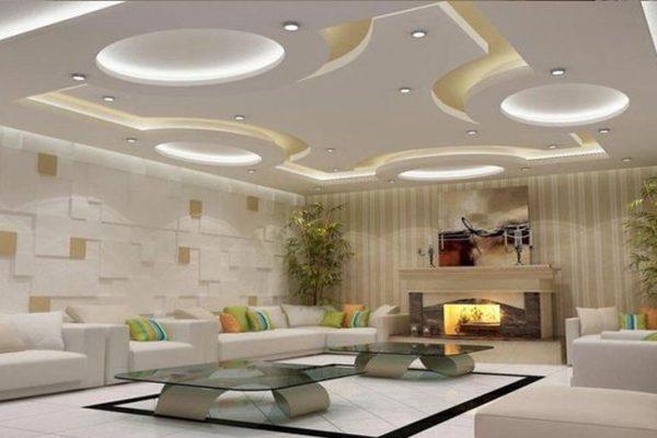 سقف کاذب کناف در طرح ها و شکل های بسیار متنوع