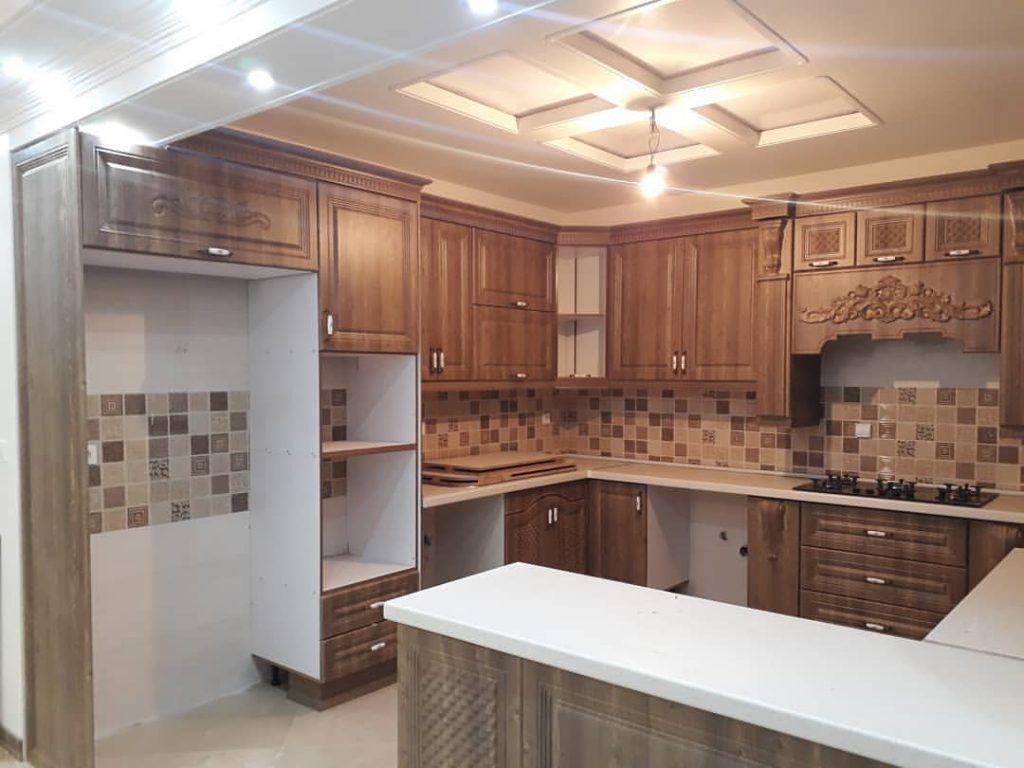 طراحی و اجرای کناف آشپزخانه مطابق با سلیقه و خواست شما