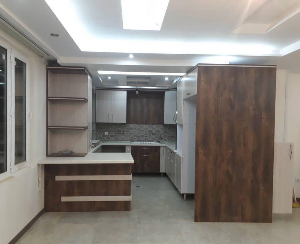 طراحی سقف آشپزخانه با کناف