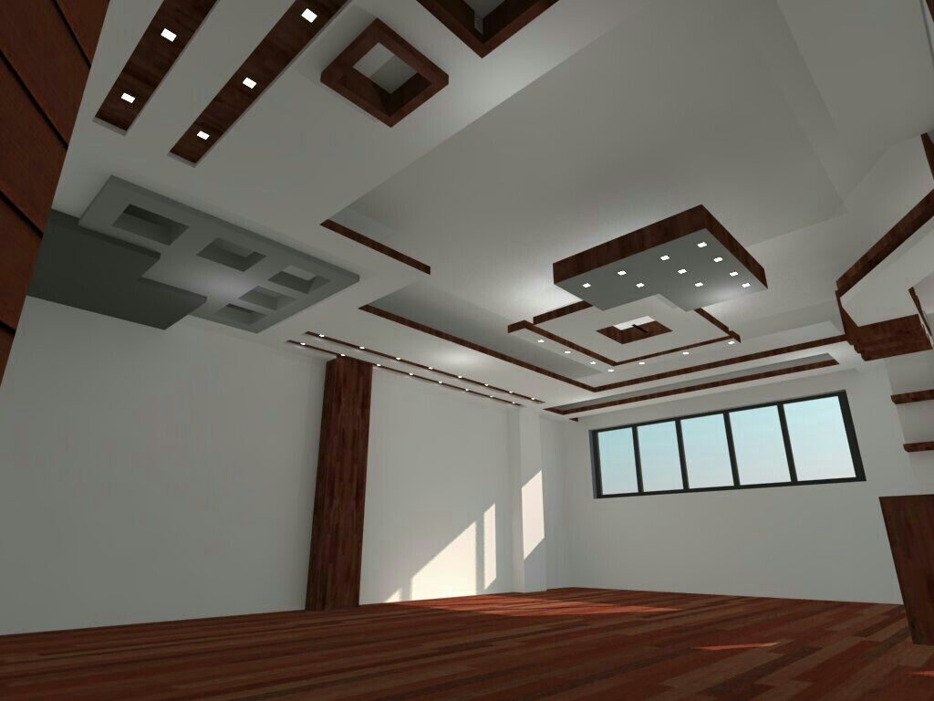 اجرای کناف سقف سالن پذیرایی