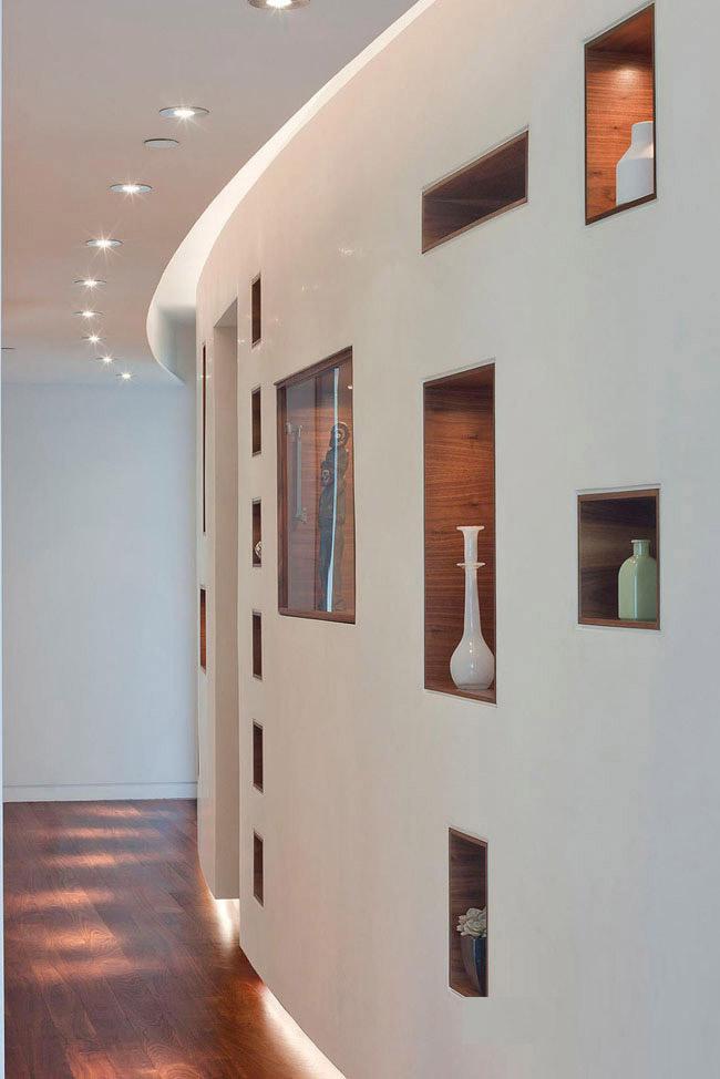اجرای دیوارهای منحنی با کناف