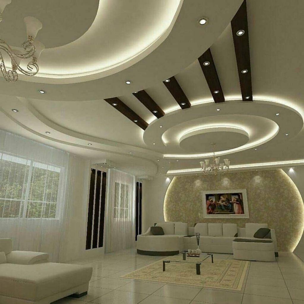 چند مدل کناف سقف پذیرایی