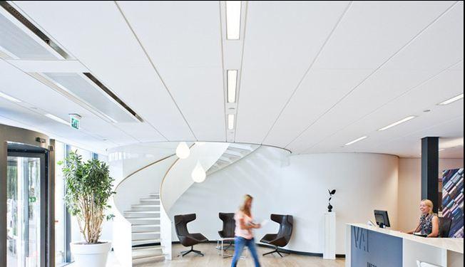 تغییر طراحی و دکوراسیون دفتر کار با کناف