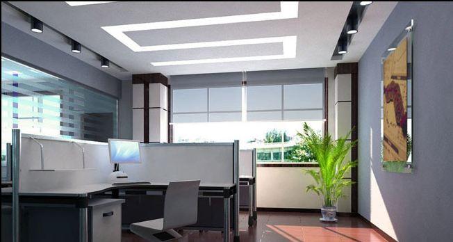 طرح های کناف کاری دفتر کار
