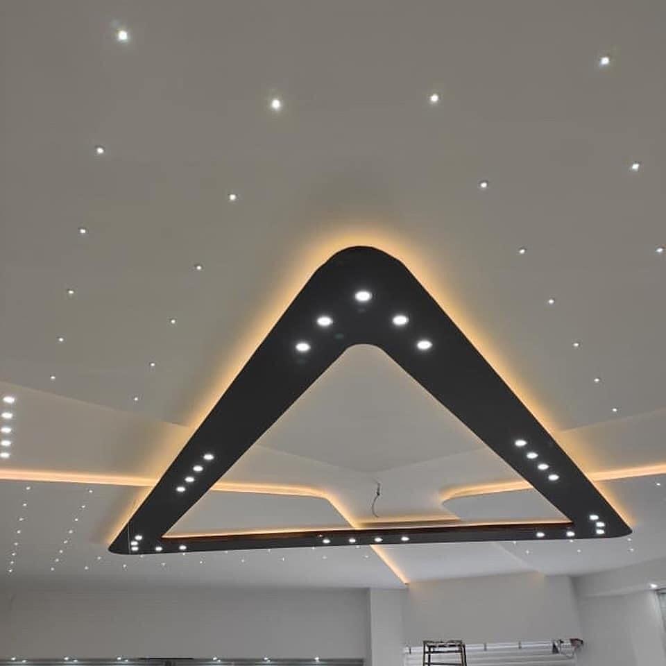طرح سقف کناف پذیرایی لوکس