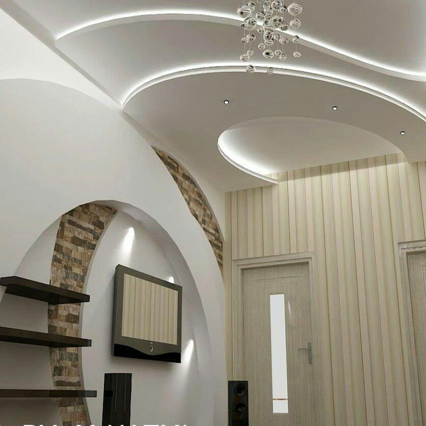 مدل سقف کناف پذیرایی جدید