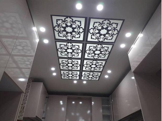 تصاویر کناف سقف پذیرایی جدید