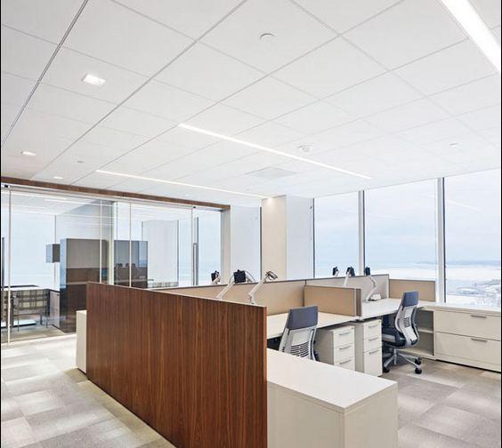 اجرای سقف کاذب کناف در دفتر کار