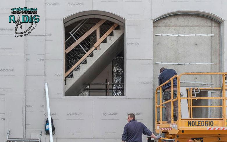 آیا می توان از کناف در نمای ساختمان استفاده کرد؟