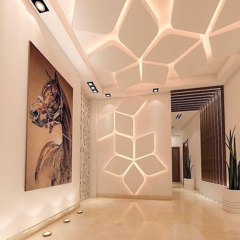 ایده های خلاقانه طراحی سقف کناف
