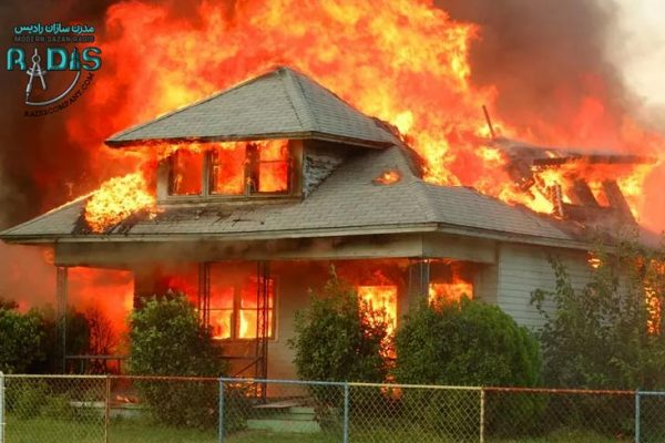 محافظت از ساختمان در برابر آتش سوزی با کناف