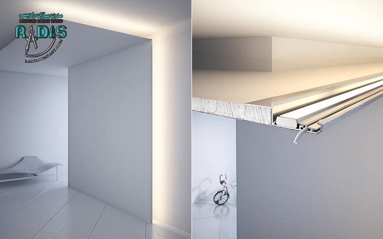 کدام چراغ سقفی کاذب برای سقف کناف بهتر است؟