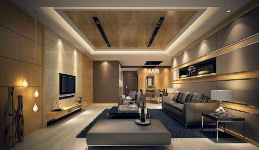 کناف سقف و ایجاد فضای اختصاصی و جذاب