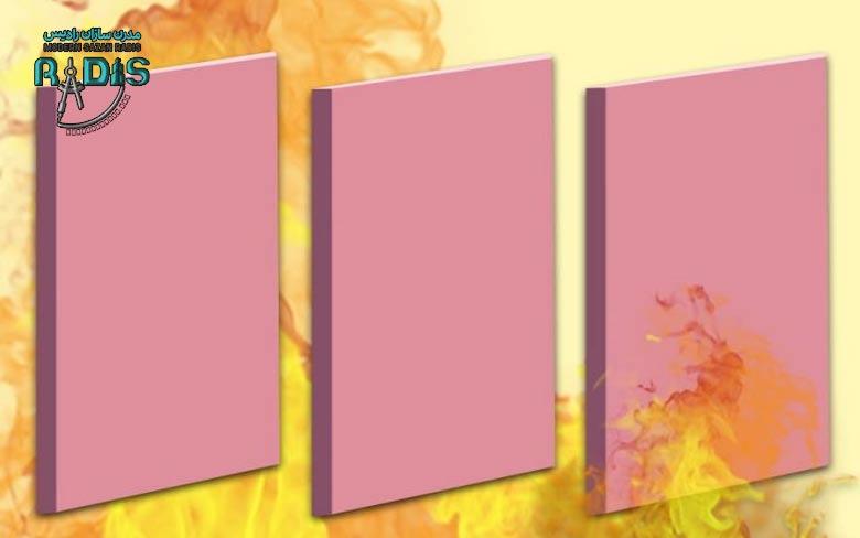 انواع پنل های گچی کناف براساس رنگ