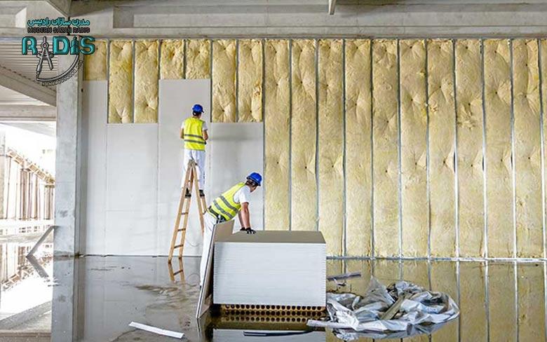 مقاومت دیوارهای کناف در مقابل ضربه چگونه است؟