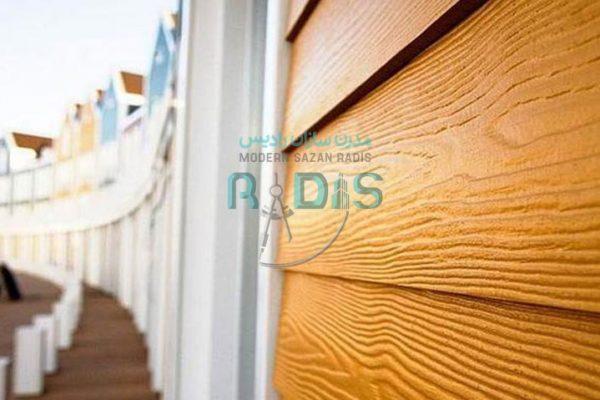 تولید فایبرسمنت برد طرح چوب با خصوصیت انعطاف پذیری بالا