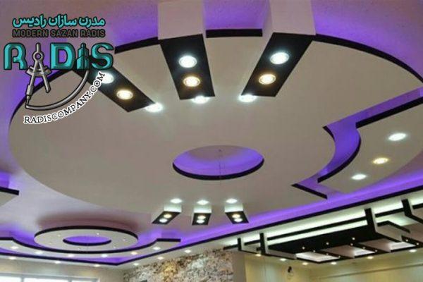 15 ایده طراحی سقف با کناف